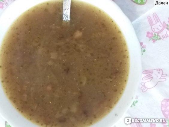 Овощная чечевичная похлебка или суп