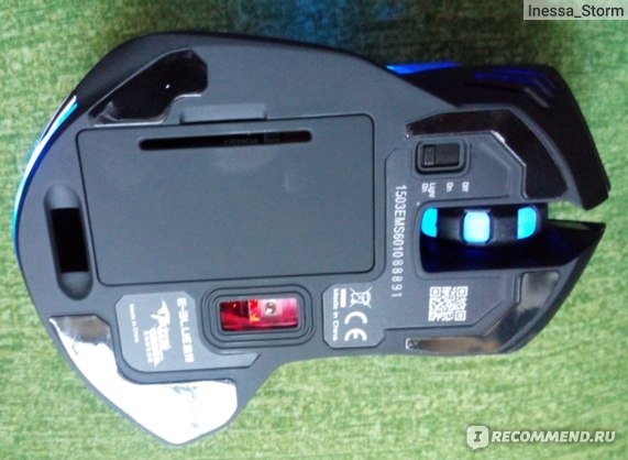 Компьютерная мышь беспроводная Aliexpress Feitong E-3lue 6D Mazer II 2500 DPI Blue LED 2.4GHz Wireless Optical Gaming Game Mouse фото