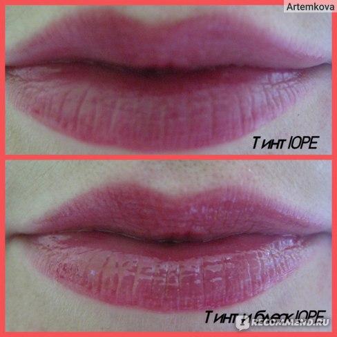 Тинт для губ IOPE Dual Lip фото