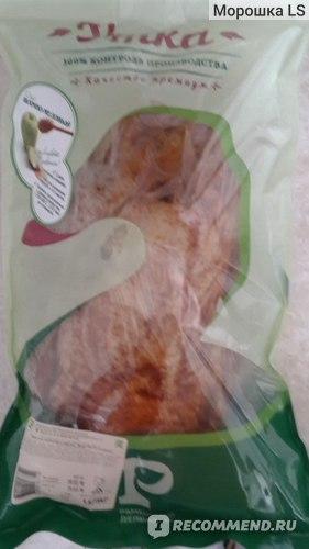 Утка Раменский деликатес тушка потрошеная в яблочно-медовом соусе фото