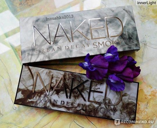 Тени для век Urban Decay Naked Smoky Eyeshadow Palette фото