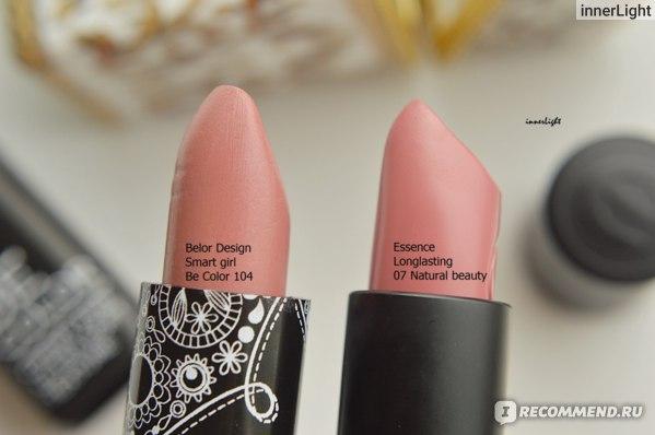 Губная помада Essence Стойкая longlasting lipstick фото