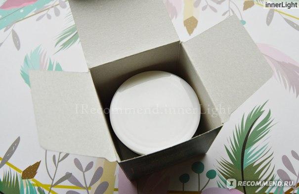 Крем-маска для лица Чистая Линия Питание (вскрытие упаковки)