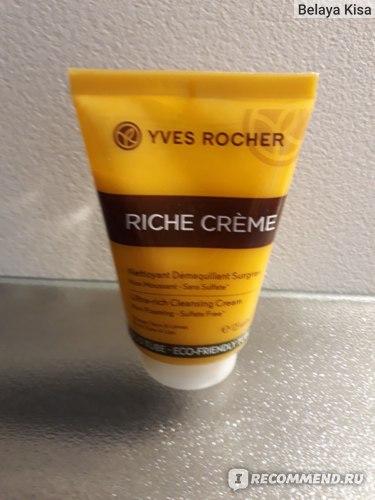 Питательный крем для умывания Ив Роше / Yves Rocher RICHE фото