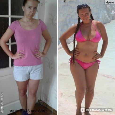 Результаты похудения от бодифлекса