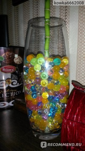 Гидрогелевые шарики / Аквагрунт фото
