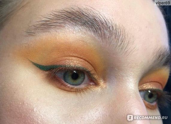 Подводка для глаз FFLEUR Color Line GREEN фото