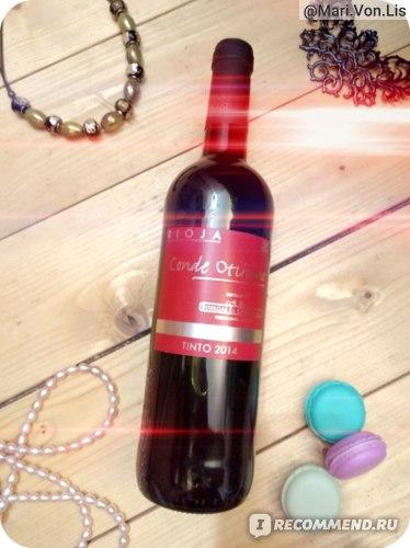 Вино красное сухое   Rioja  Conde Otinano фото