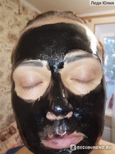 Маска-пленка для кожи лица Oriflame очищающая  с углем Pure Skin фото