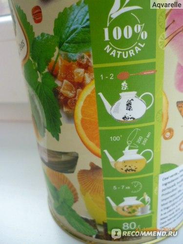 Чай зеленый  Lovare Мохито фото