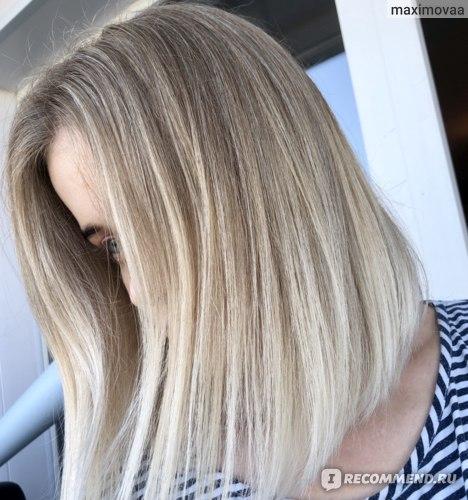 волосы после укладки с кремом