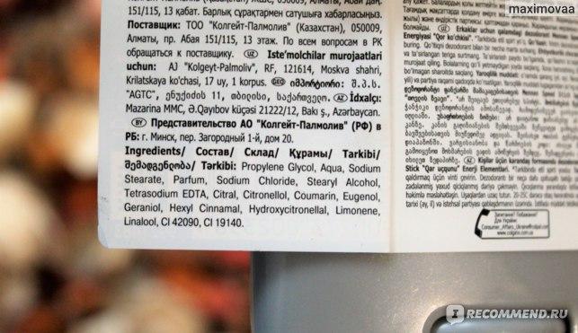 Дезодорант-антиперспирант Mennen Speed Stick Энергия Стихии Снежная Лавина фото