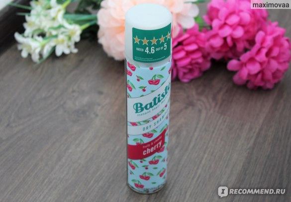 Batiste Dry Shampoo Cherry отзыв