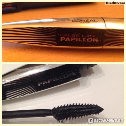Тушь для ресниц L'Oreal False Lash Papillon (Butterfly Wing Effect) фото