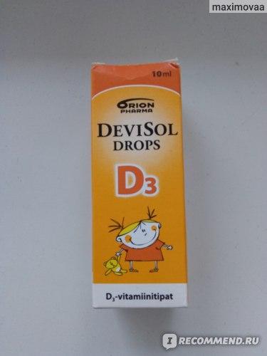 DeviSol Drops D3
