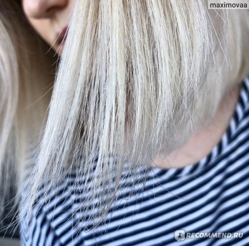 волосы после использования  L'Oreal Paris Elseve CICA Repair