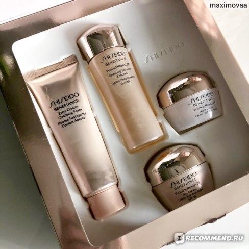 Shiseido BENEFIANCE Extra Creamy Cleansing Foam пенка отзыв