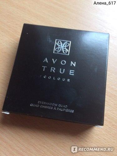 Четырехцветные тени для век Avon Ограниченная коллекция Осень/зима 2015 фото