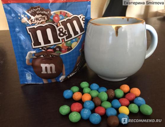 Драже Mars M&M's Crispy фото