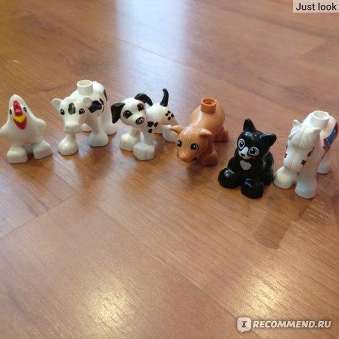 Виды животных в Лего Дупло