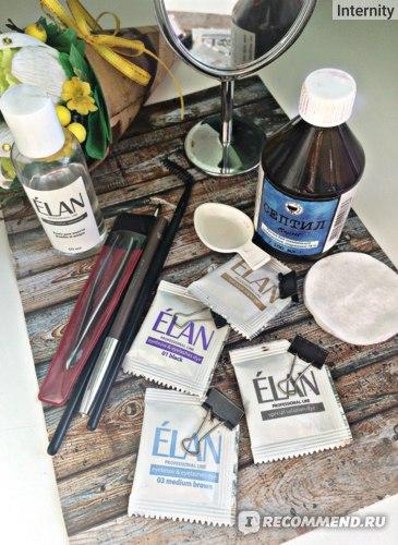 Гель-краска для бровей и ресниц Elan