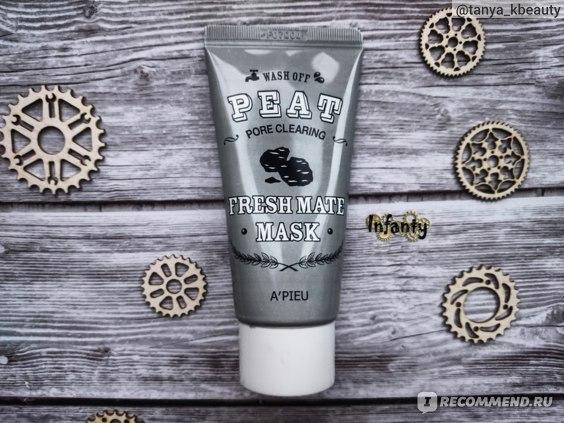 Очищающая и сужающая поры маска A'Pieu Fresh Mate Peat Mask Pore Clearing
