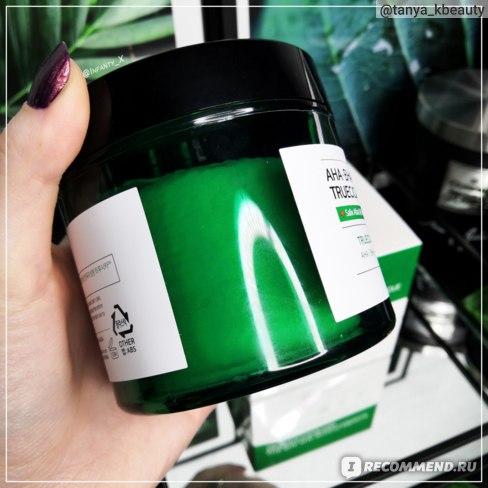 Очищающие пэды Some By Mi AHA BHA PHA 30 Days Miracle Truecica Clear Pad с кислотами для проблемной кожи фото