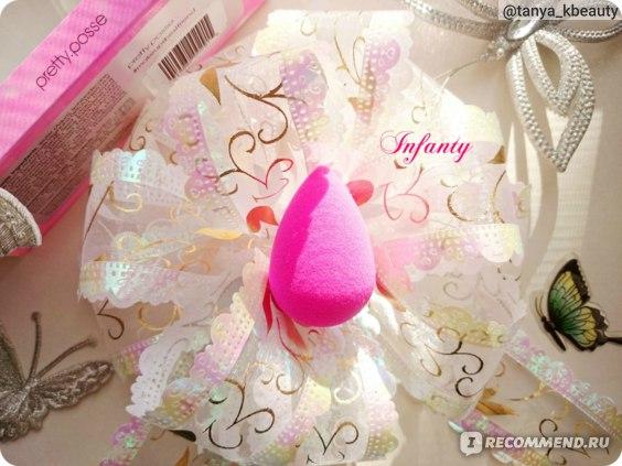 Спонжи для макияжа BeautyBlender The original (розовый) фото