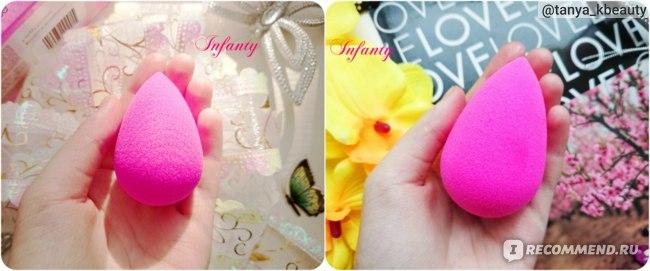 сухой → мокрый BeautyBlender Original