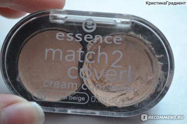 Консилер Essence Match 2 Cover Concealer фото