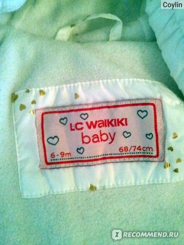 Детский зимний комбинезон LC Waikiki Утепленный фото