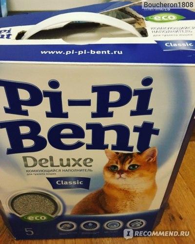 Наполнитель для кошачьего туалета Pi-Pi-Bent DELUXE CLASSIC фото