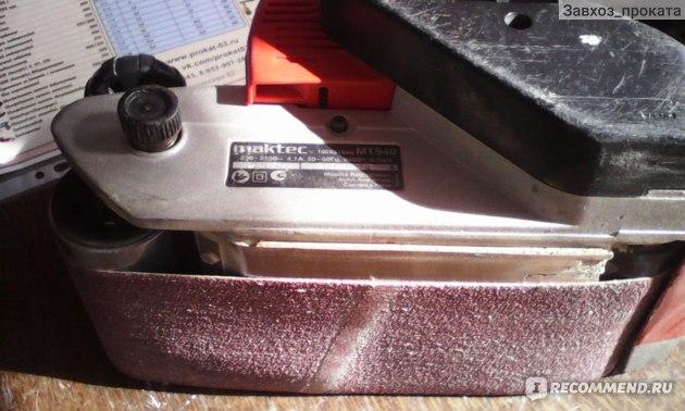 Шлифовальная машина Maktec MT940 Ленточная фото
