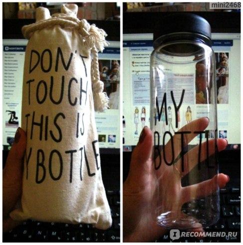 Бутылка для напитков Aliexpress Most fashionable this season Sport Hot Item Only Healthy Life Water Bottle Yoga& Gym& Outdoor water Bottles My Bottle фото