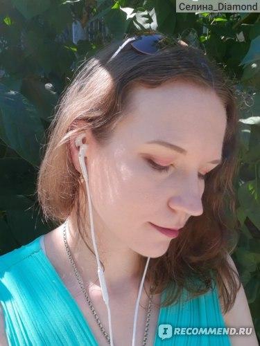 В полном макияже солнечный свет