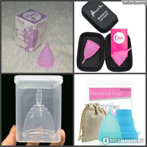 Менструальные капы Aliexpress Medical Grade Silicone Menstrual Cup фото