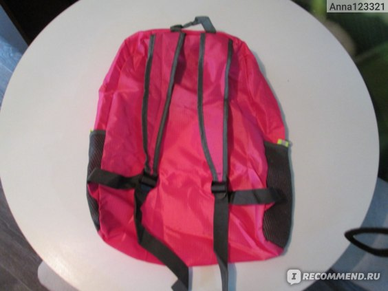 Рюкзак складной Aliexpress Women Backpack Men Unisex Travel Outdoor Backpack Leisure Bags Schoolbag Rucksack Foldable Bags HL6630 фото