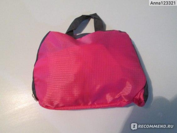 Рюкзак в сложенном виде