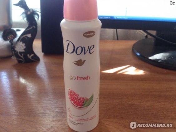 Дезодорант-антиперспирант Dove Go fresh Свежесть граната и лимонной вербены фото