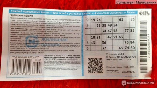 Государственная жилищная лотерея