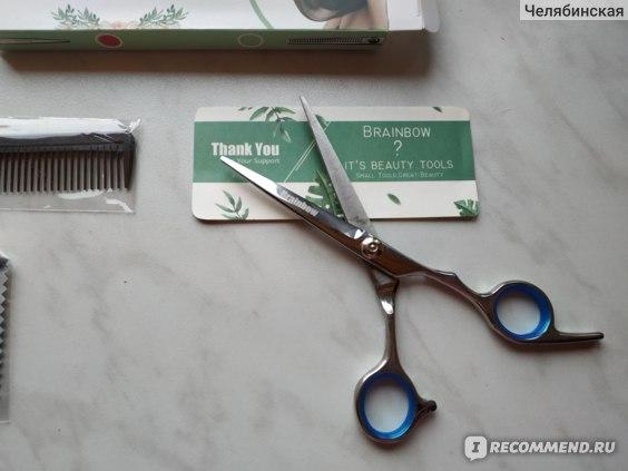 Парикмахерские ножницы Brainbow professional фото