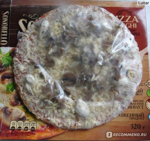 Пицца Sonobello с грибами замароженная