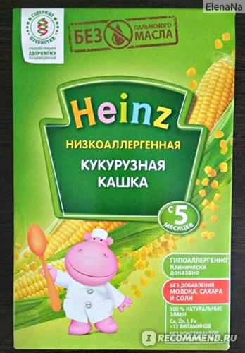 Heinz кукурузная каша