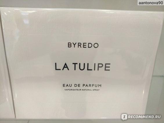 Byredo La Tulipe фото
