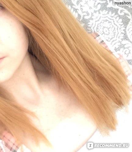 До (окрашивание Estel на тёмно-русые волосы):
