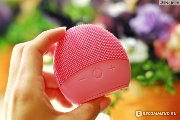 Электрическая щётка для лица Aliexpress NEW USB Facial Cleansing Brush Sonic Vibration Mini Face Cleaner Silicone Deep Pore Cleaning Electric Waterproof Massage фото