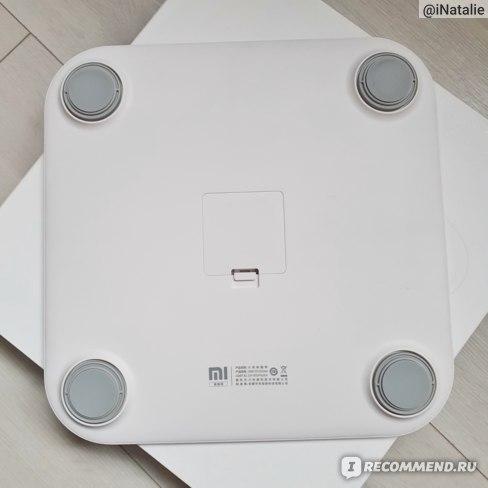 Умные весы Xiaomi Mi Body Composition Scale фото