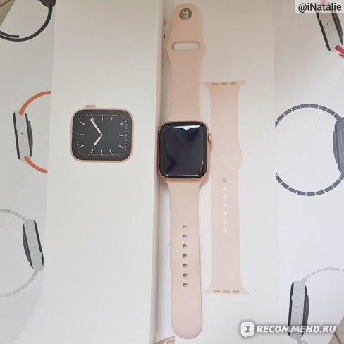 Умные часы Apple Watch 5 фото