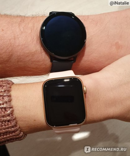 Apple Watch 5 VS Samsung Watch Active 2