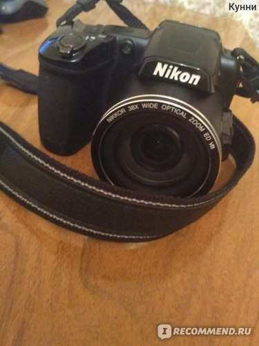 Nikon Coolpix L840, внешний вид